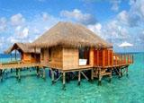 天堂岛水上木屋
